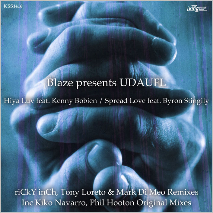 Blaze pres. United Underground Dance Artists United For Life : Hiya Luv / Spread Love (Remixed)