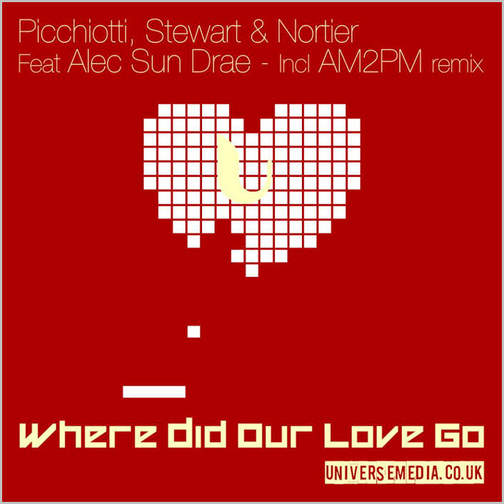Picchiotti, Stewart & Nortier feat. Alec Sun Drae : Where Did Our Love Go