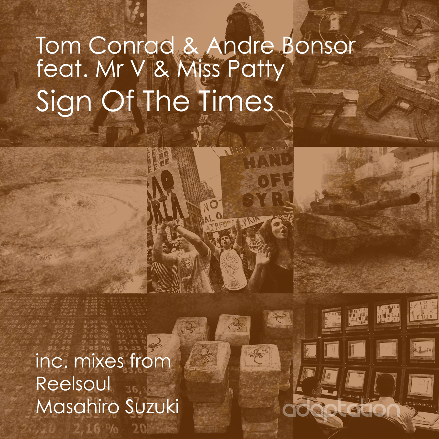 Tom Conrad & Andre Bonsor - Sign Of The Times
