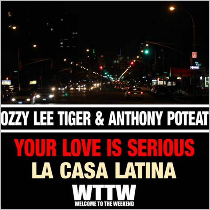 Ozzy Lee Tiger & Anthony Poteat : Your Love Is Serious