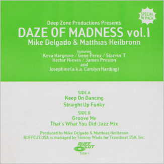 Deep Zone Productions : Daze Of Madness (Vol.1+2)